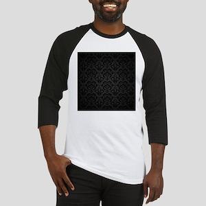 Elegant Black Baseball Jersey