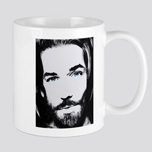 """Follow Me"" Look into the eyes of Jesus Mugs"