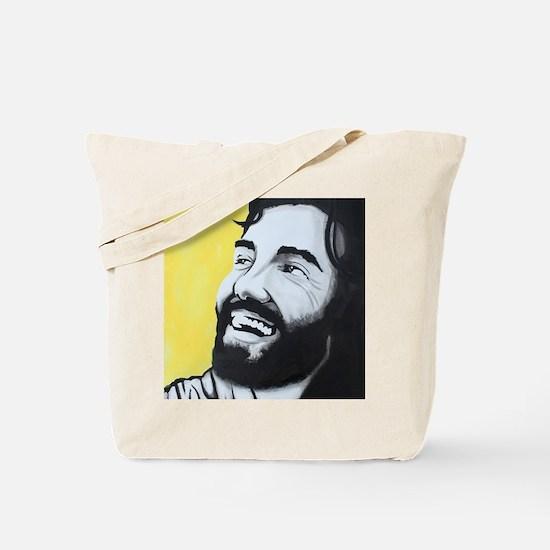Cute Laughing jesus Tote Bag