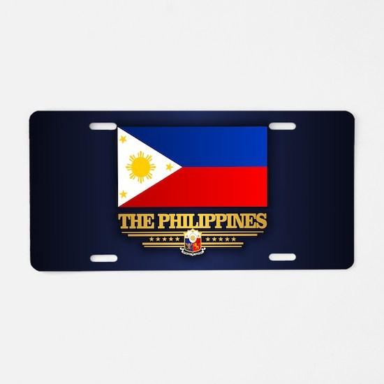The Philippines Aluminum License Plate