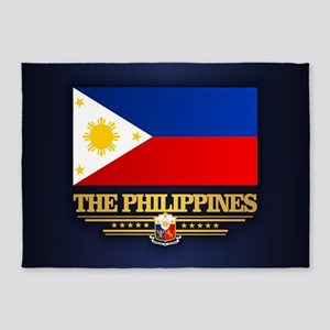 The Philippines 5'x7'Area Rug
