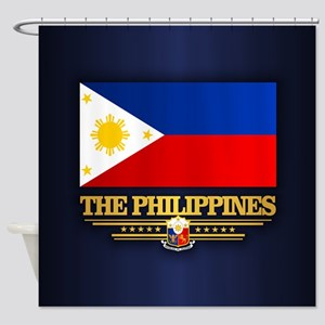 The Philippines Shower Curtain