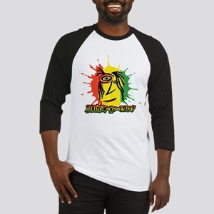 Reggae Face Splat 1 Baseball Jersey