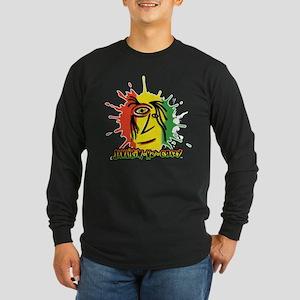 Reggae Face Splat 1 Long Sleeve T-Shirt