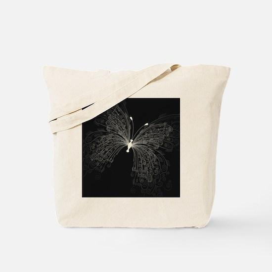 Elegant Butterfly Tote Bag