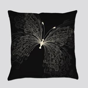 Elegant Butterfly Everyday Pillow