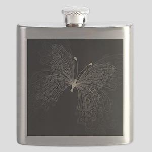 Elegant Butterfly Flask