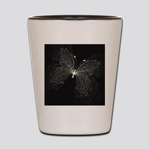 Elegant Butterfly Shot Glass