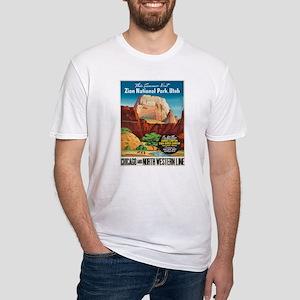Vintage poster - Zion National Park T-Shirt