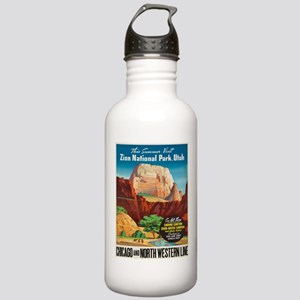 Vintage poster - Zion Stainless Water Bottle 1.0L