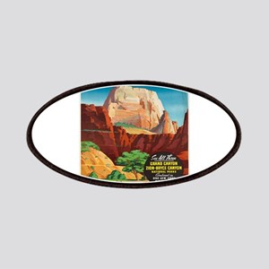 Vintage poster - Zion National Park Patch