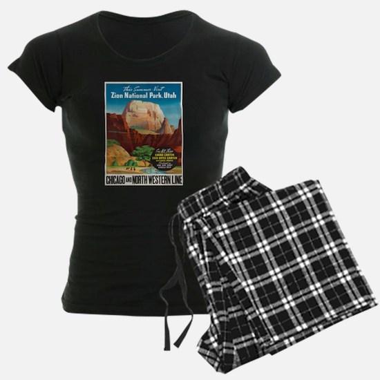 Vintage poster - Zion Nation Pajamas