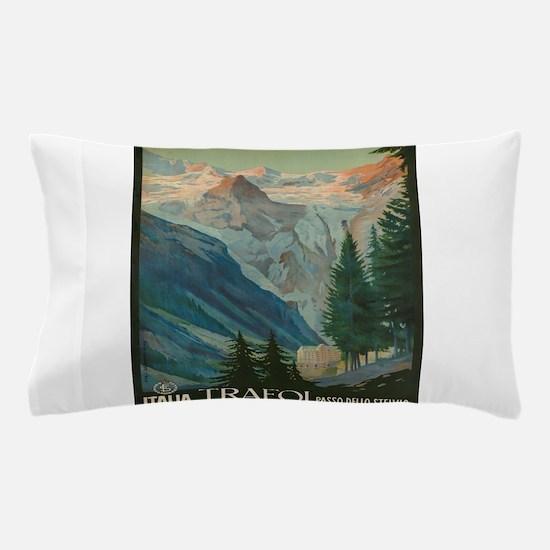 Vintage poster - Trafoi Pillow Case