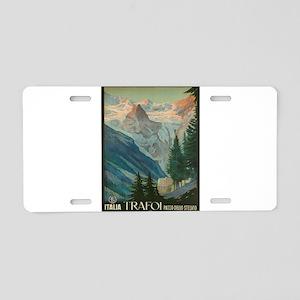 Vintage poster - Trafoi Aluminum License Plate