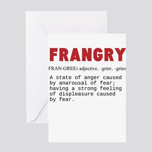 FRANGRY Greeting Cards