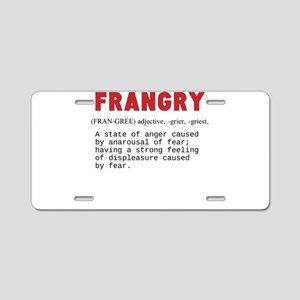 FRANGRY Aluminum License Plate