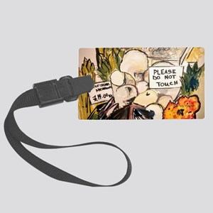 Borough Market London Luggage Tag