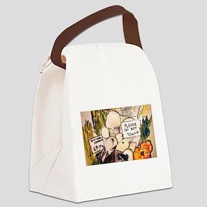 Borough Market London Canvas Lunch Bag
