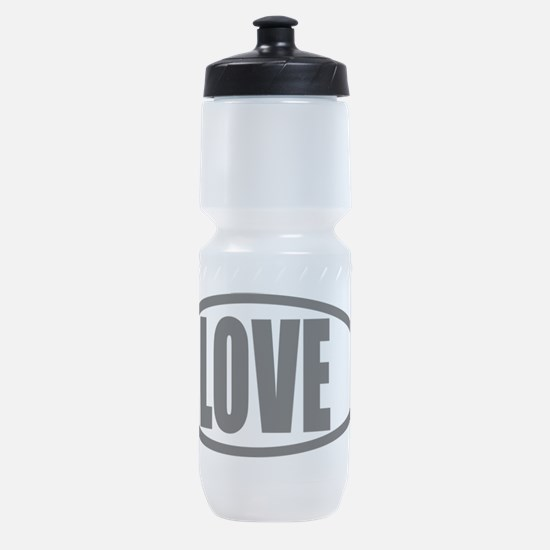 Christian Fish Love Sports Bottle