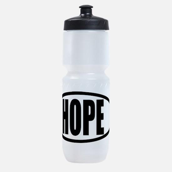 Christian Fish Hope Sports Bottle