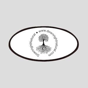 DownrightNatural Logo Patch