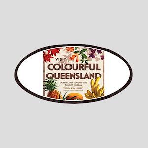 Vintage poster - Queensland Patch