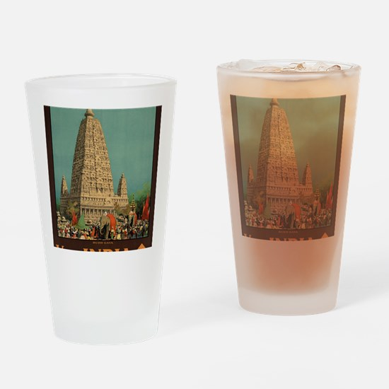 Cute India Drinking Glass