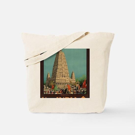 Cute India Tote Bag