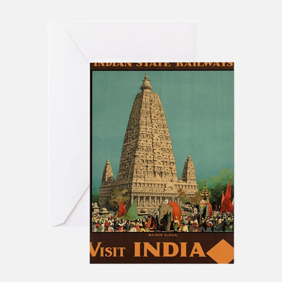 Funny India Greeting Card