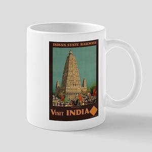 Vintage poster - India Mugs