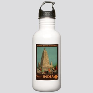 Vintage poster - India Stainless Water Bottle 1.0L