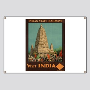 Tourism India Banners Tension Banners