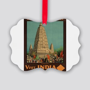 Vintage poster - India Picture Ornament