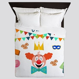 purim Queen Duvet