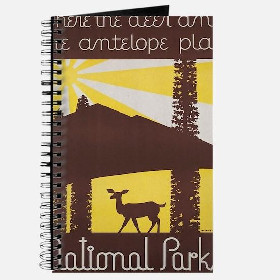Cute Antelope park Journal