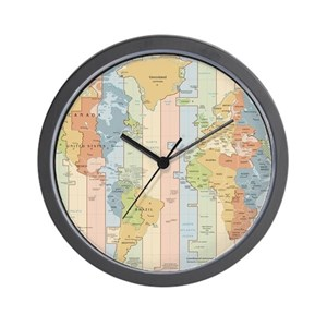 World Wall Clocks - CafePress