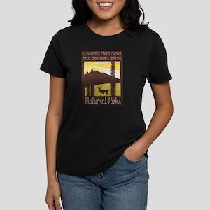 Vintage poster - National parks T-Shirt