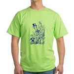 Adolph in Blunderland Green T-Shirt