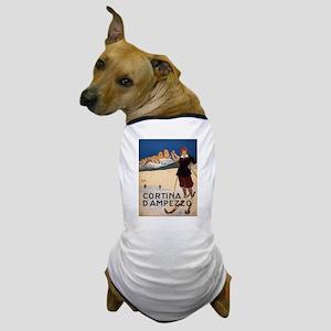 Vintage poster - Cortina d'Amprezzo Dog T-Shirt