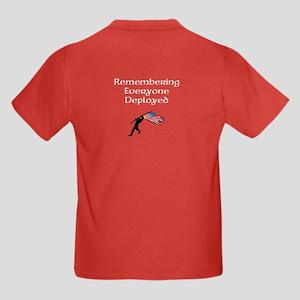 Remembering Everyone Deployed Kids T-Shirt