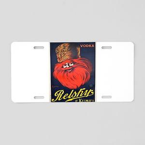Vintage poster - Relsky Vod Aluminum License Plate