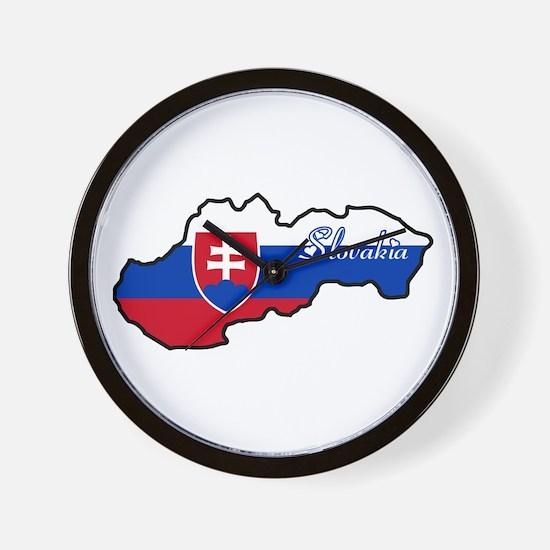 Cool Slovakia Wall Clock
