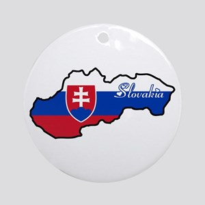 Cool Slovakia Ornament (Round)