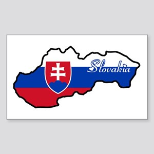 Cool Slovakia Rectangle Sticker