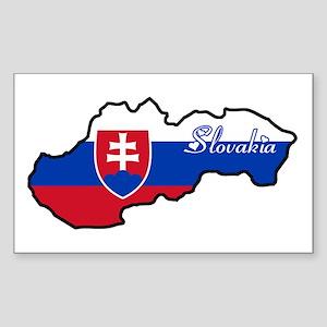 Cool Slovakia Rectangle Sticker