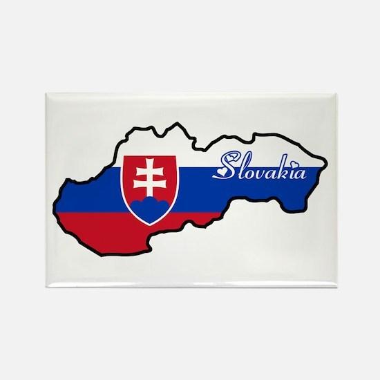 Cool Slovakia Rectangle Magnet