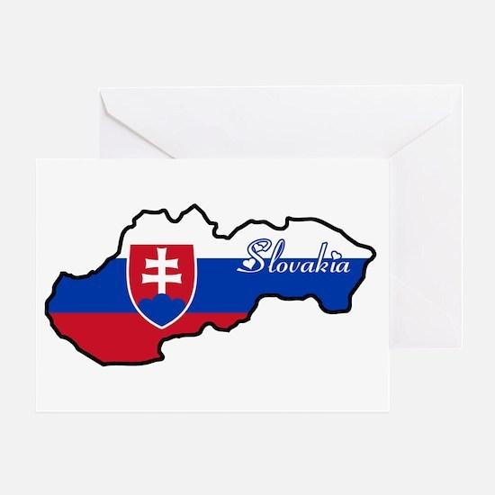 Cool Slovakia Greeting Card