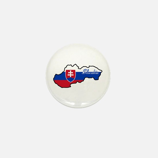 Cool Slovakia Mini Button