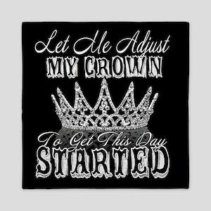adjust my crown Queen Duvet