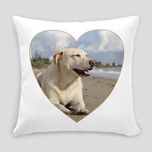 BEACH DOGS Everyday Pillow
